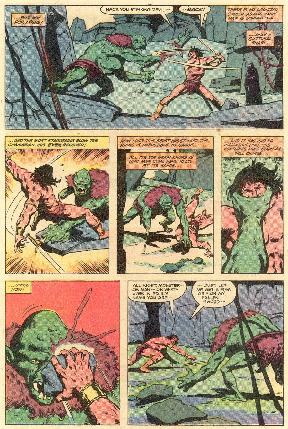 Conan the Barbarian (1970) Issue #126 #138 - English 10