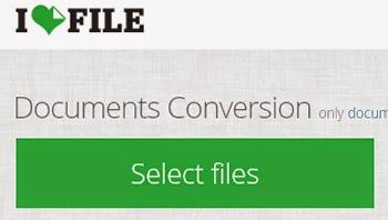 Convierte tus archivos a cualquier formato con iLoveFile