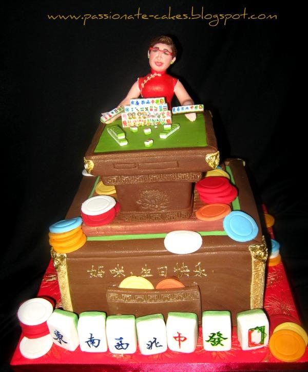 Passionate Cakes Mahjong Champion Mom