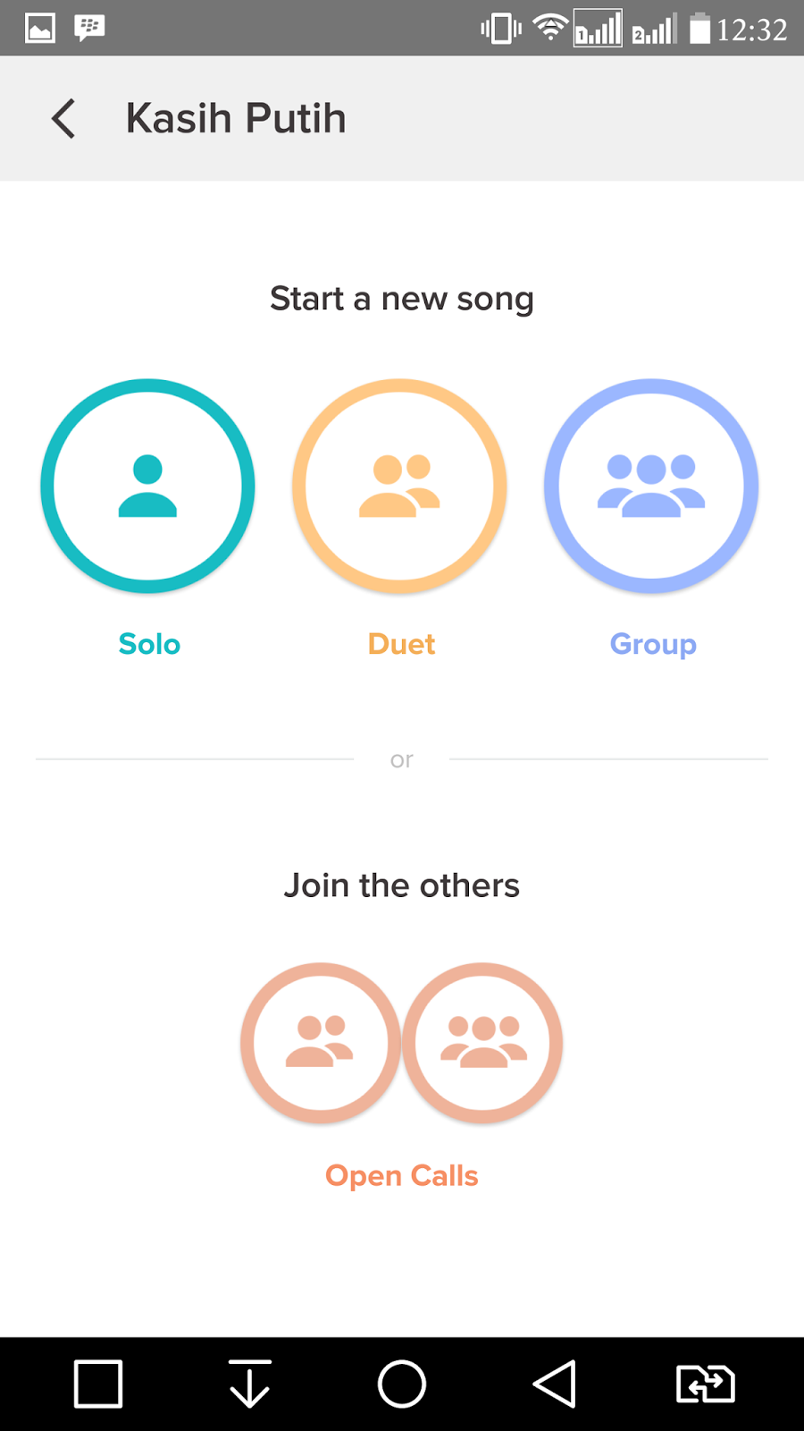 Guide karaoke smule the difference is when you select duet mode you will only be singing the lyrics that are part of your part 1 or part stopboris Image collections