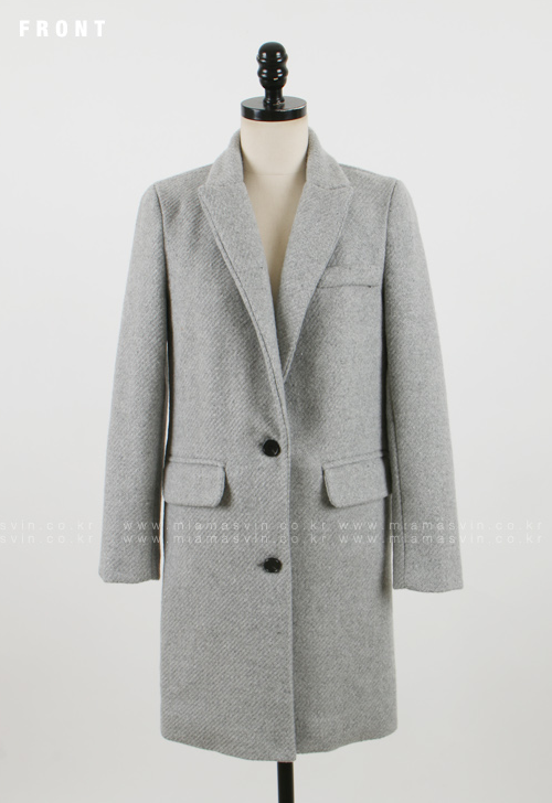 Textured Coat with Quilted Lining