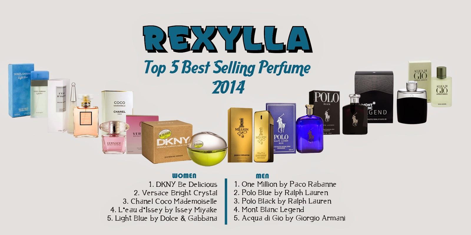 rexylla, rexylla perfume, best selling perfume 2014