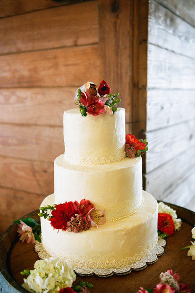 The Fab Miss B A Rustic Wedding With A Cardinal Bride