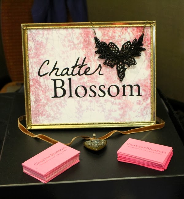 ChatterBlossom Sign Display