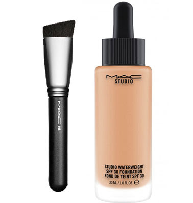 mac liquid foundation brush. in terms of application, you can use your fingers, brush or blending sponge to apply this foundation. mac actually promote the no. mac liquid foundation h