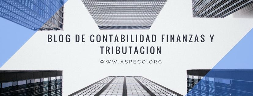 Blog de Contabilidad Finanzas y Tributacion