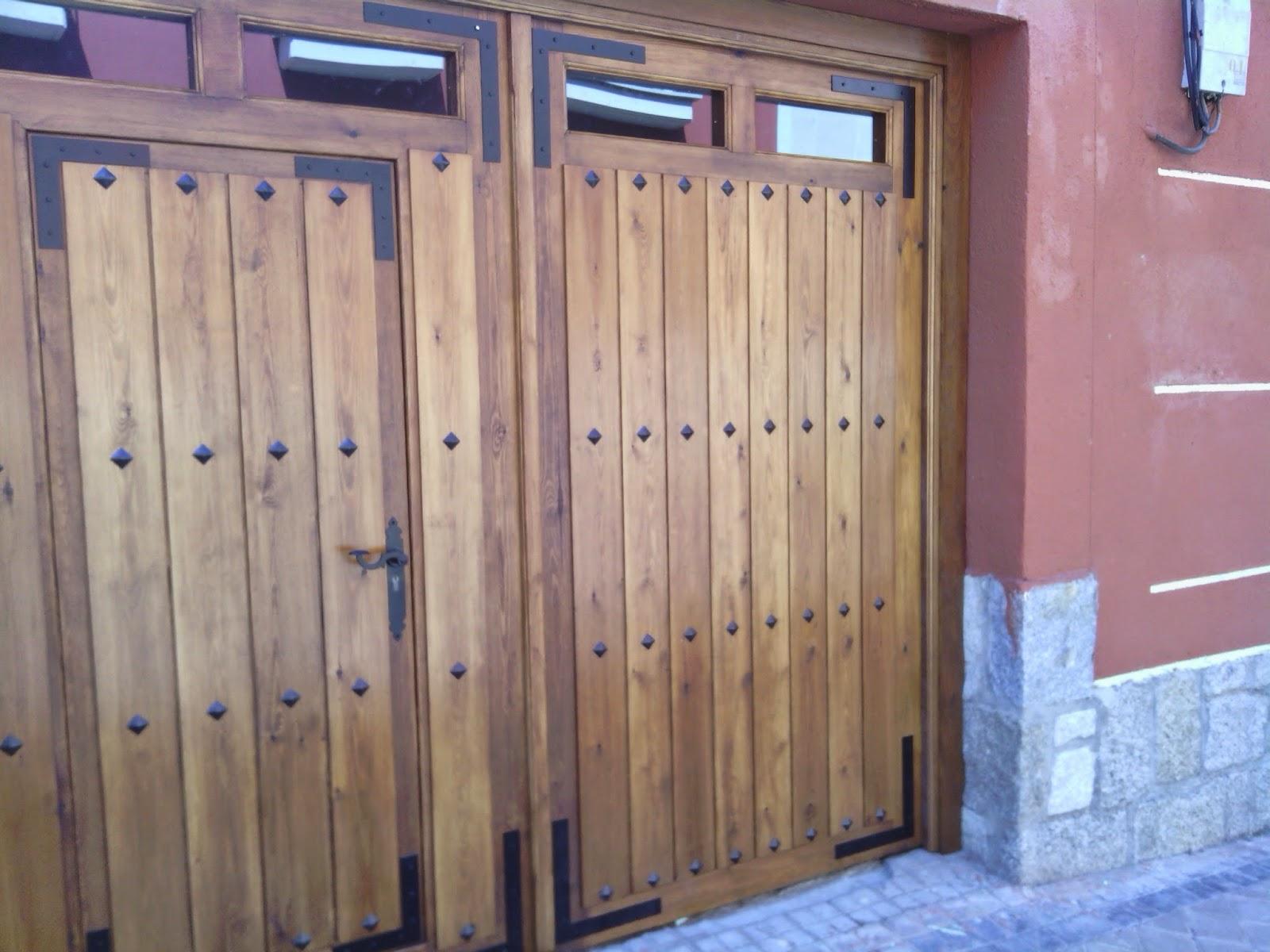 Librer as a medida en madrid muebles de madera fabritecma for Porton madera antiguo