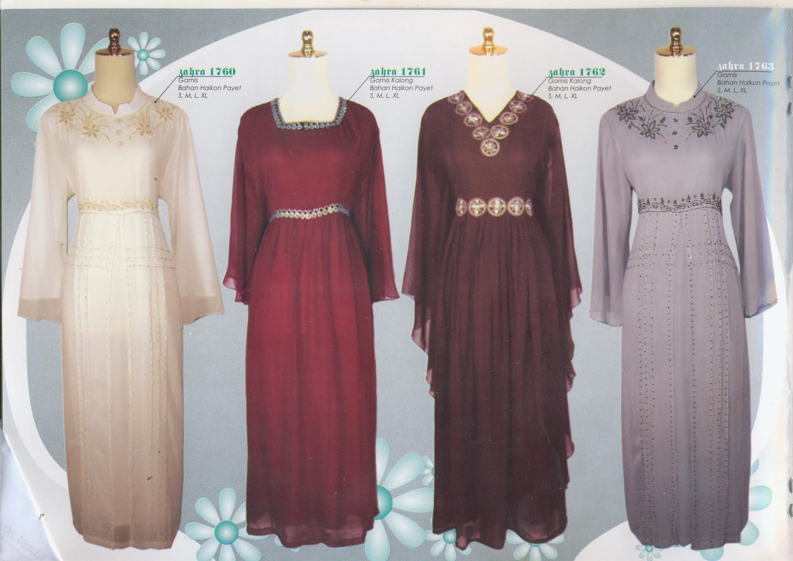 Model Baju Gamis Exclusive Auto Design Tech