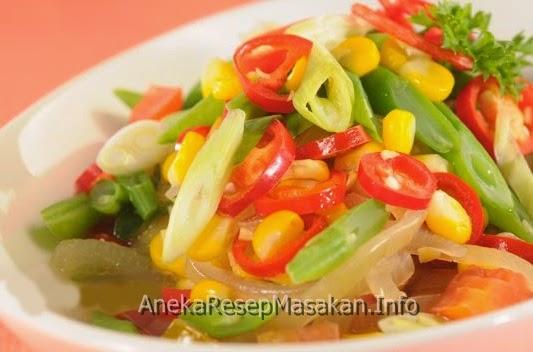 Resep dan Cara Membuat Tumis Aneka Sayur