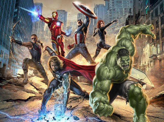 """Marvel Studios Presents """"The Avengers"""" Exclusive Footage at New York Comic Con 1"""