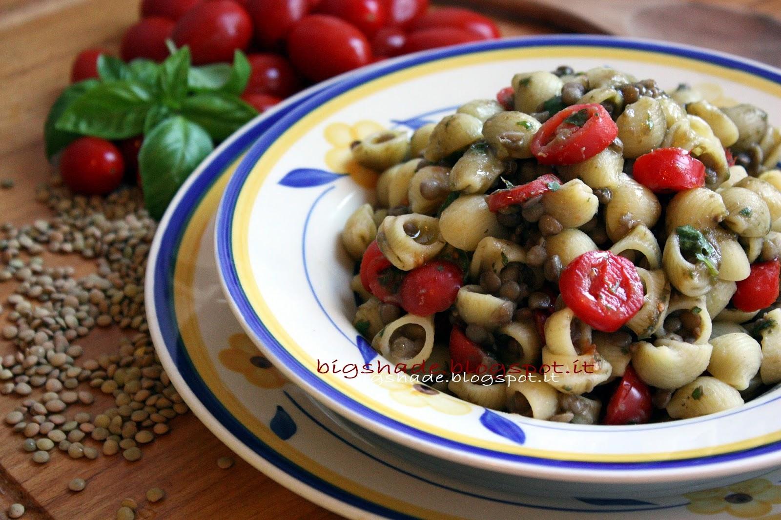 pasta e lenticchie summer edition