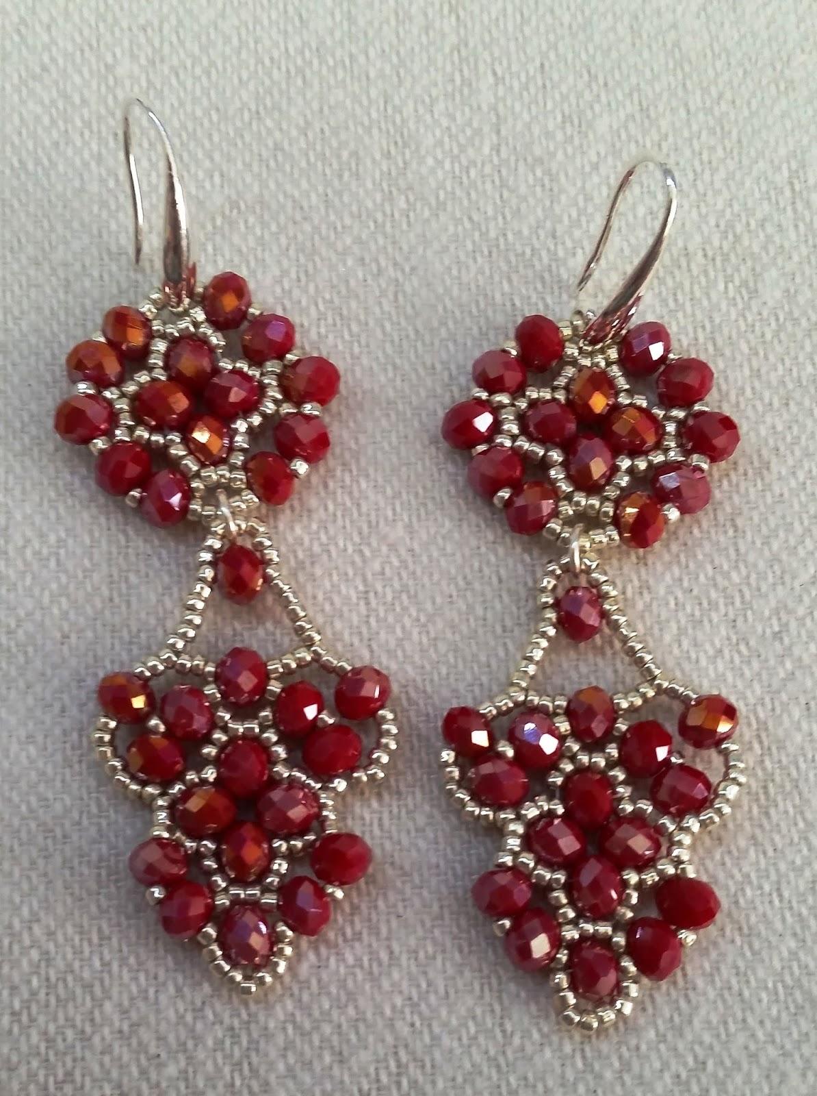 Favoloso i bijoux di rosestormhand made with love: ORECCHINI IN  GO87