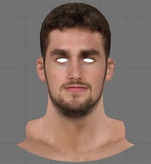 NBA 2K13 Kevin Love Cyberface Mod