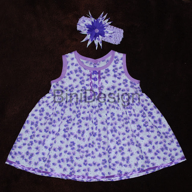 Baby Girl Dress Floral Months Bini Design Children