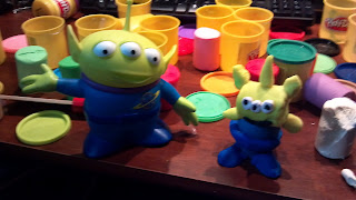 playdoh alien from toy story
