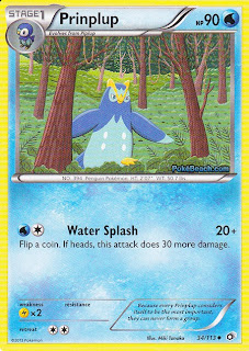 Prinplup Legendary Treasures Pokemon Card