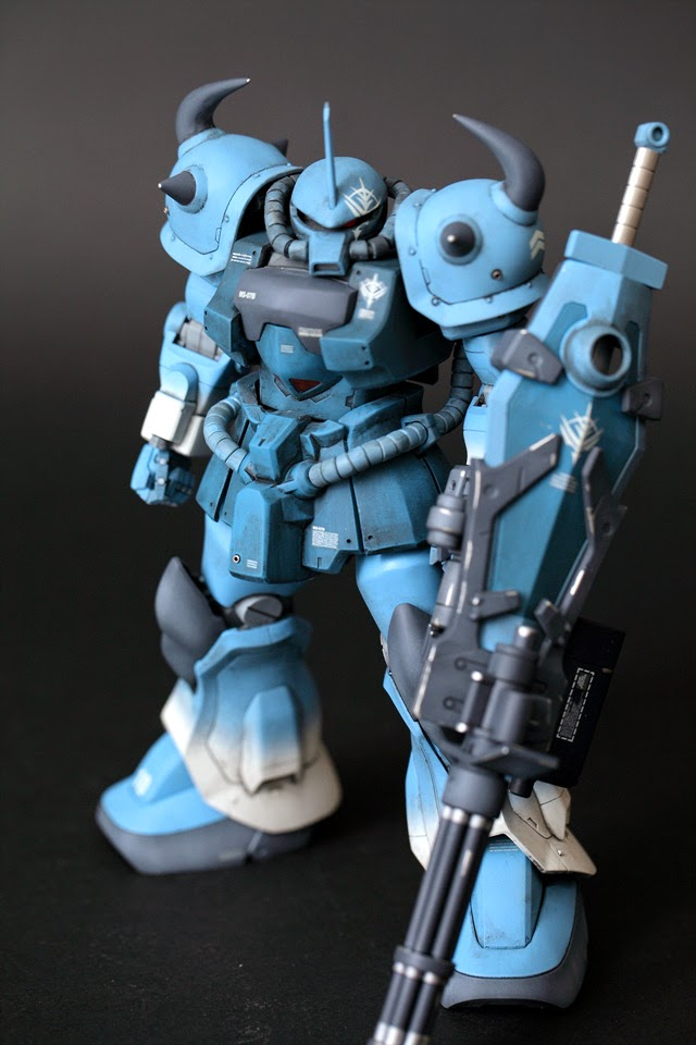 Mg Gouf Custom Paint