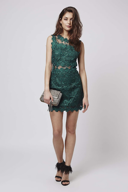 topshop green lace dress, green lace dress,