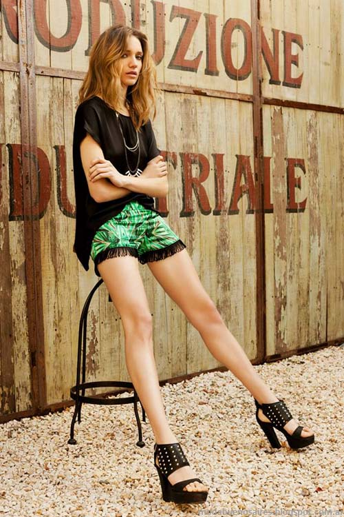 Tucci verano 2014 shorts. Moda 2014.