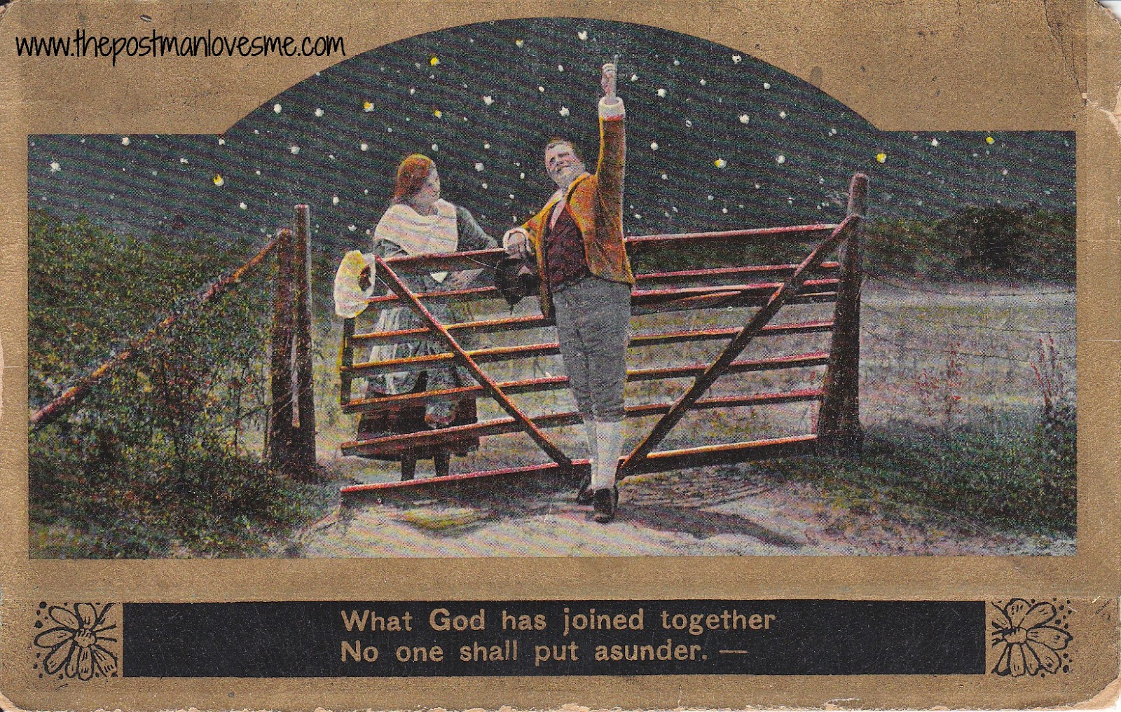 Romantic Vintage Postcard (1910s)