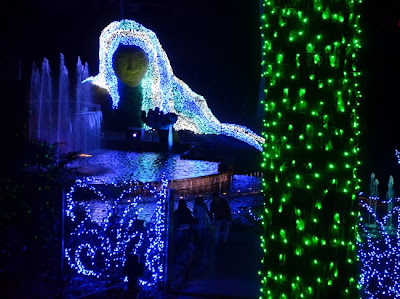 Garden Lights, Holiday Nights | Ice Goddess