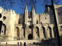 Pope's Palace,  Avignon, France