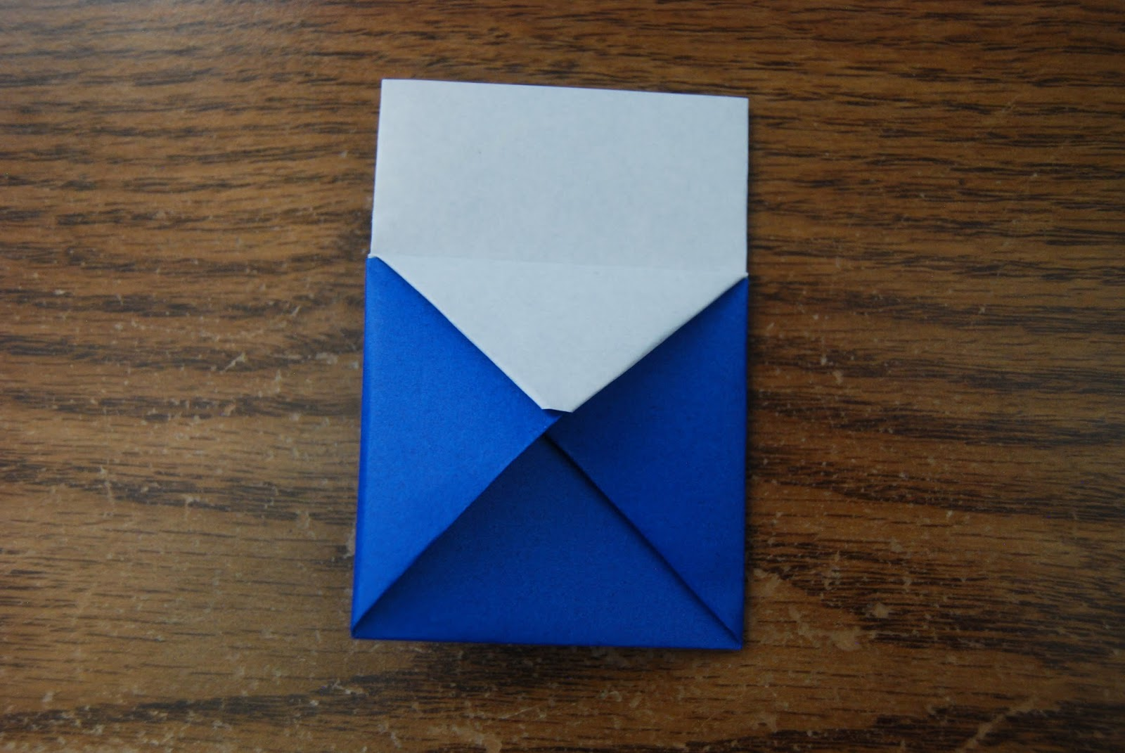 Сделать кошелек из бумаги