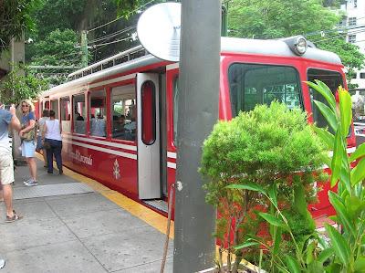Tren de Corcovado, trem do Corcovado, Rio, Brasil, La vuelta al mundo de Asun y Ricardo, round the world, mundoporlibre.com