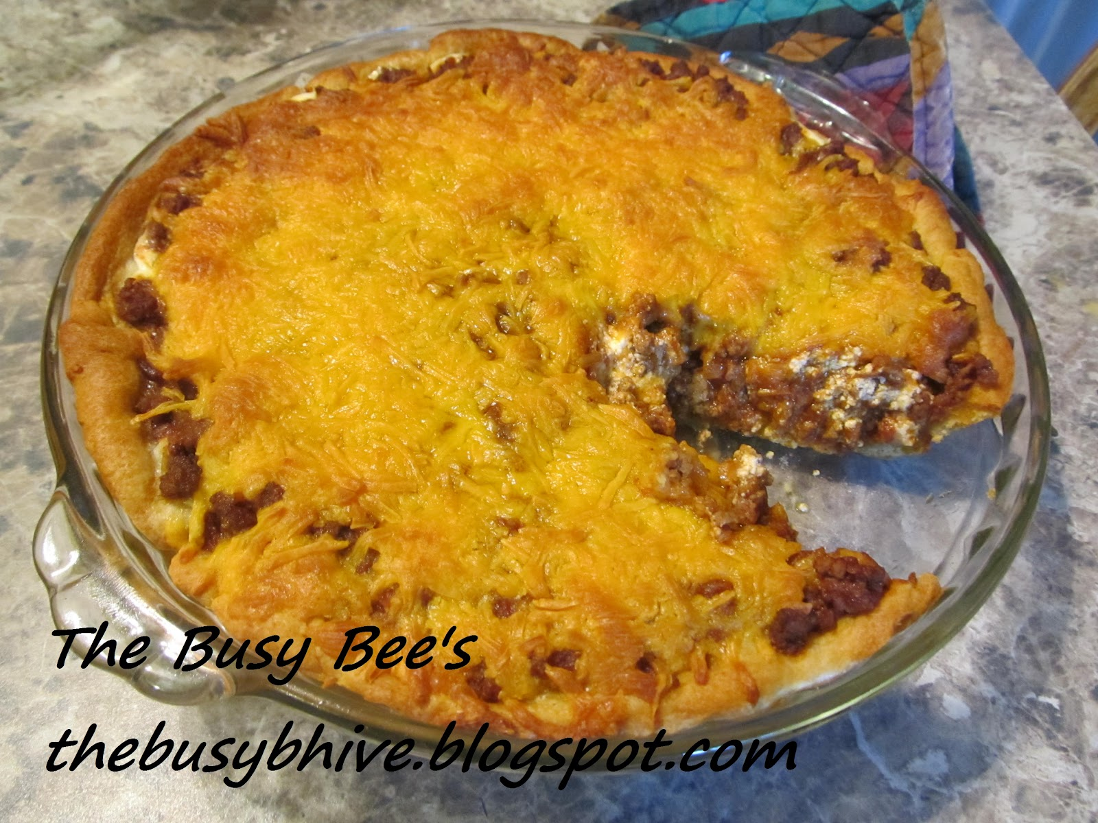 The Busy Bee's: Taco Pie