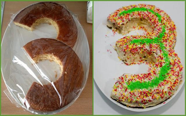 El paso a paso de cómo hacer una tarta de tercer cumpleaños
