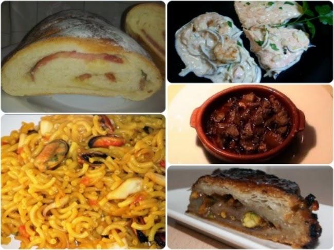 Menú con cinco recetas nº 11