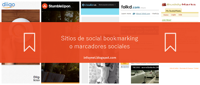 Sitios de social bookmarking o marcadores sociales