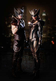 Hawkman and Hawkgirl from Legends of Tomorrow