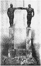 1924 IL DONO DEI FASCISTI BERGAMASCHI A MUSSOLINI PER LA VISITA A BERGAMO