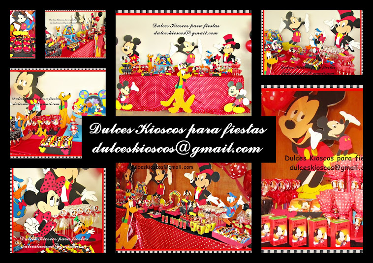 Elegi tu tematica: Mickey Mouse!!!