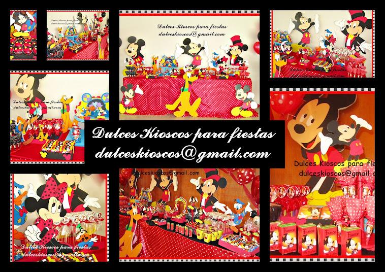 Elegi tu tematica: Mickey Mouse!!!