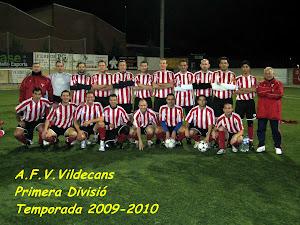 A.F.V.VILADECANS. 2009-10