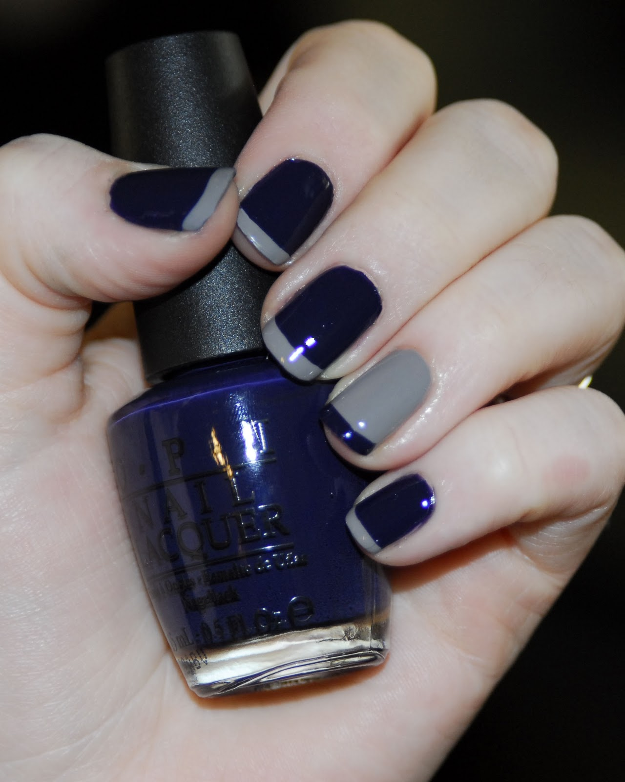 Adventures of MEGA Best Friends!: Navy Nail Mani