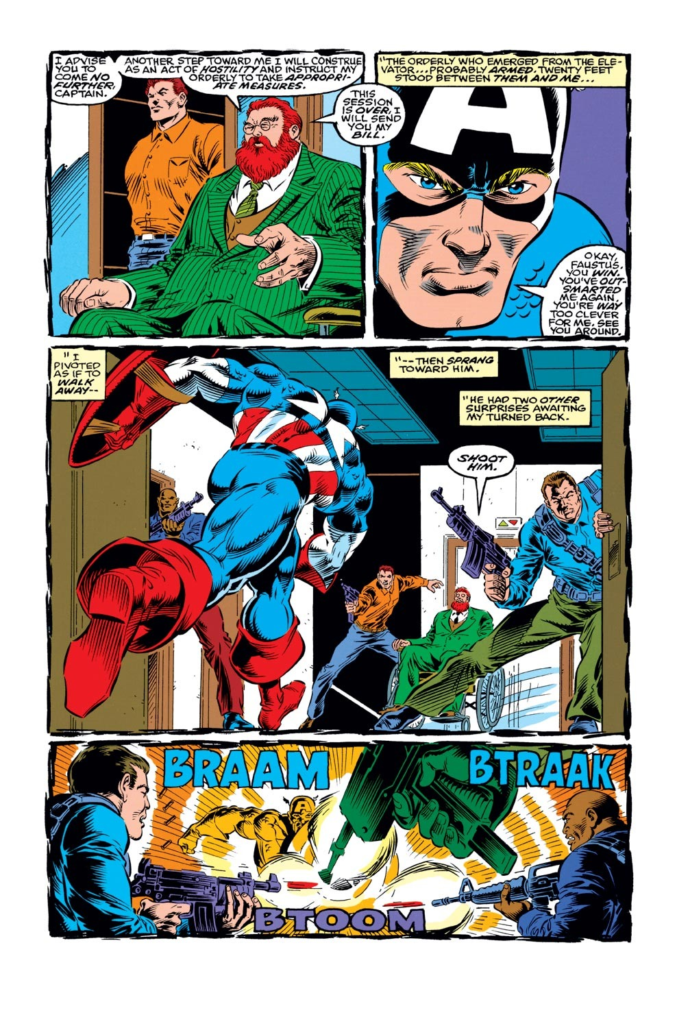 Captain America (1968) Issue #421 #371 - English 8