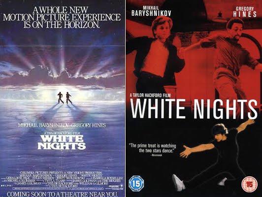 ผลการค้นหารูปภาพสำหรับ white night film 1985 POSTER