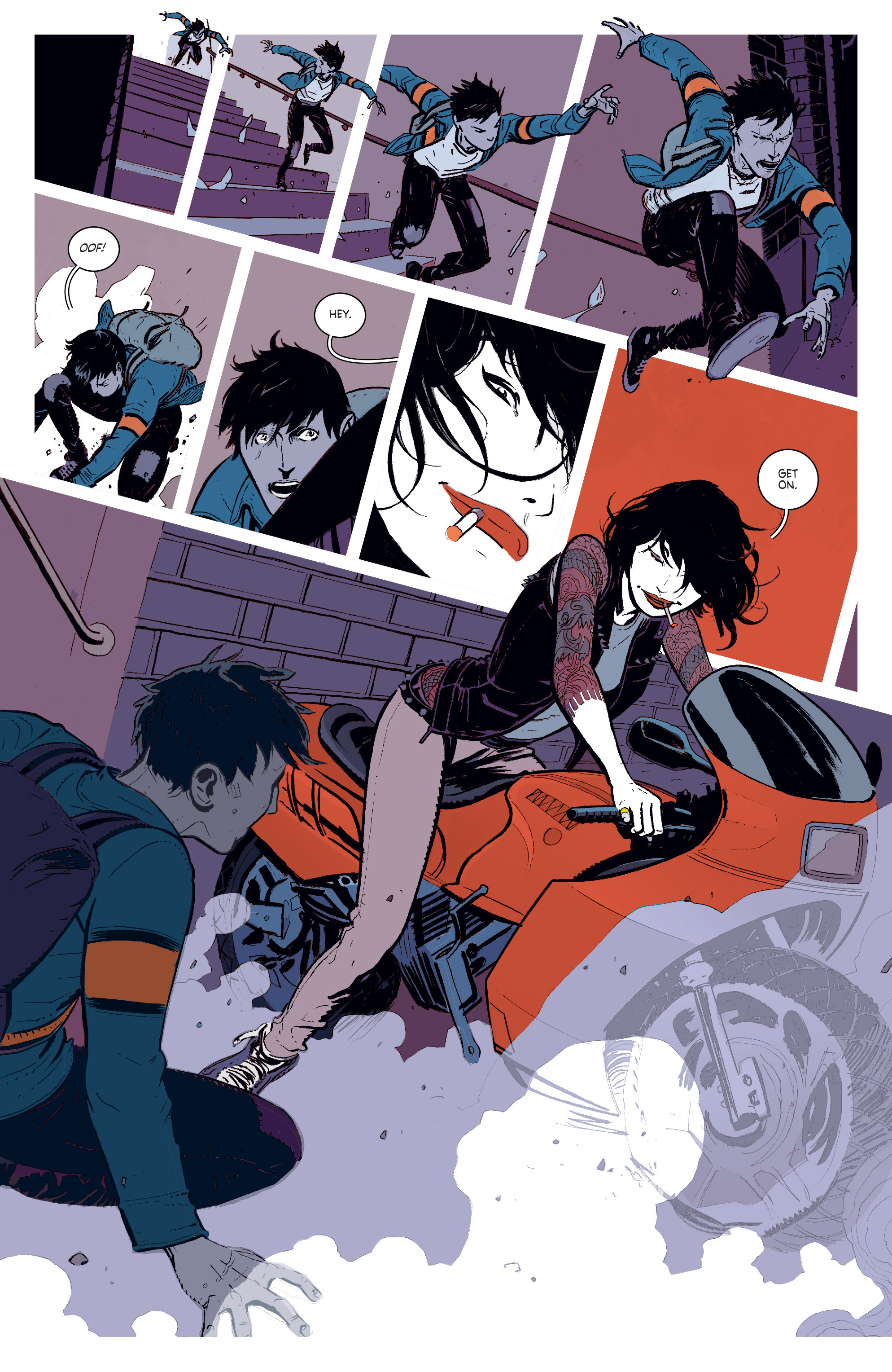 Read online Deadly Class comic -  Issue #1 - 15