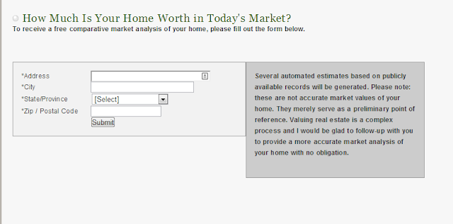 calculate the value of your home in today's market