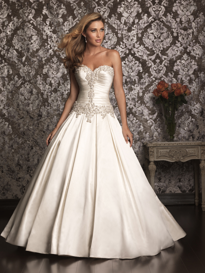 Allure bridals spring 2013 my dress of the week belle for Princess cut wedding dresses