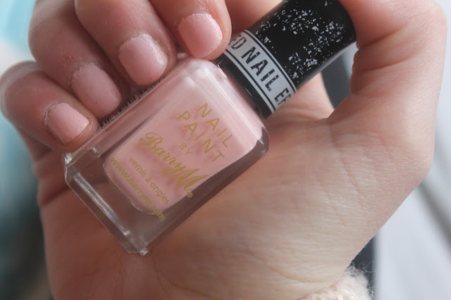 Barry M kingsland road swatched on nails