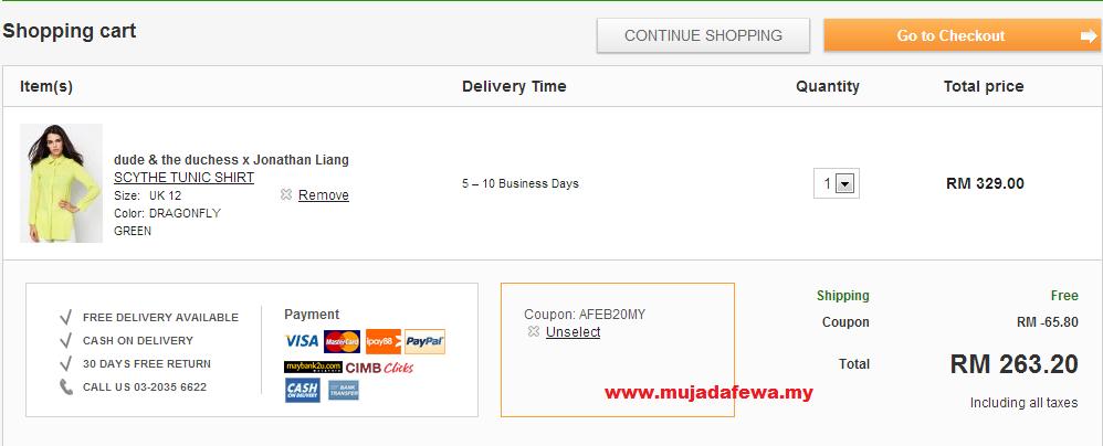 shopping online, diskaun hebat, shopping online dengan harga diskaun, iprice coupons