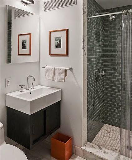 model desain cermin kaca rias atau hias untuk kamar mandi modern