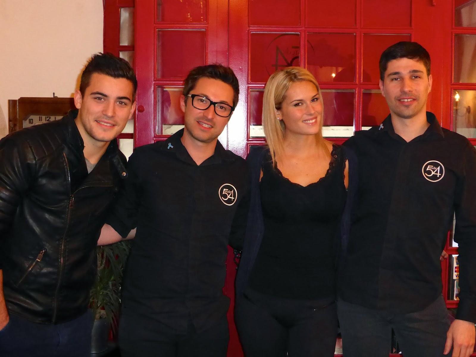 De gauche à droite, Anthony, Eddy, Marine et Guillaume.