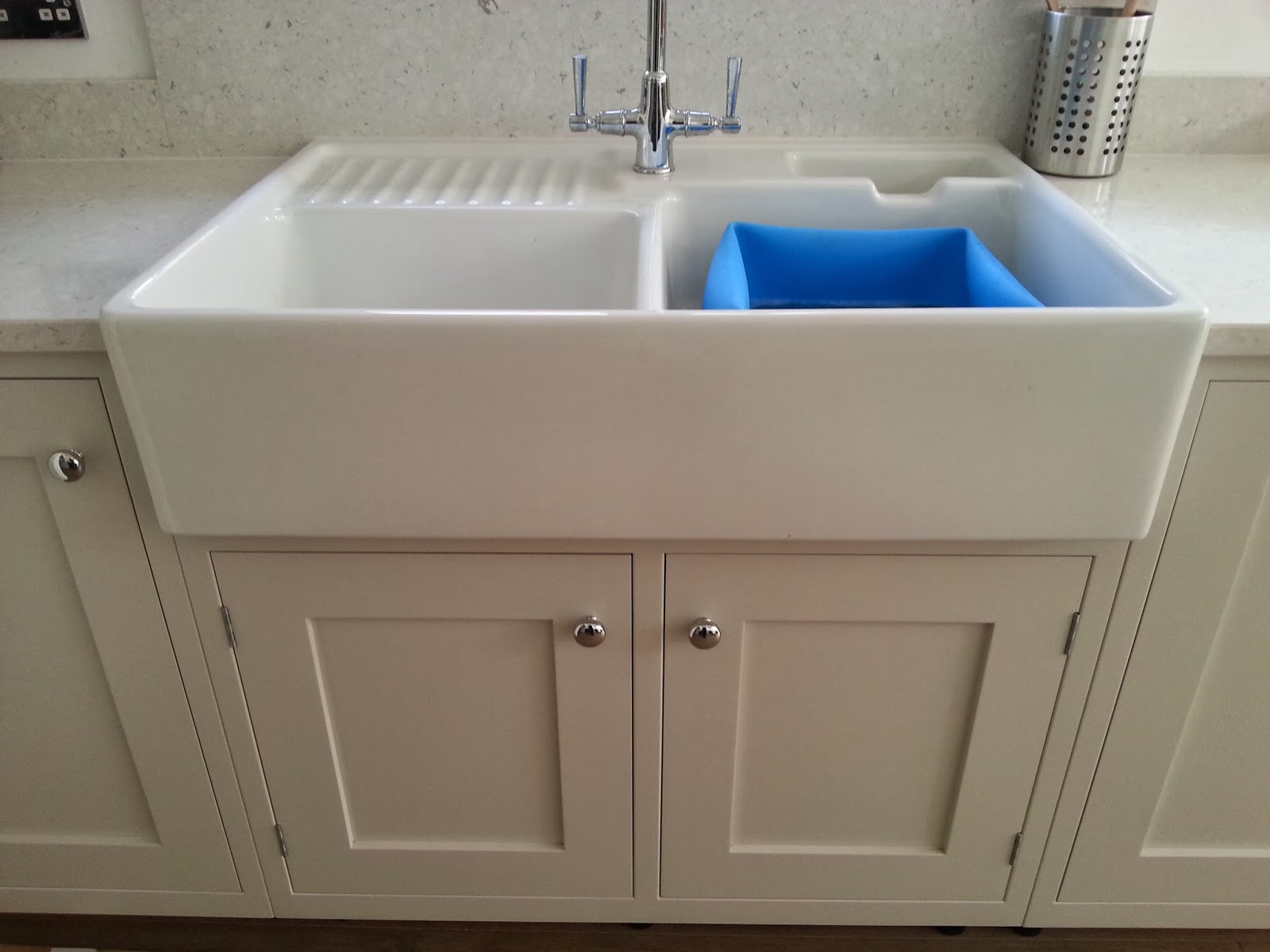 Franklin Kitchen Sinks : ... kitchen sink from villeroy boch on f b cornforth white cottage kitchen
