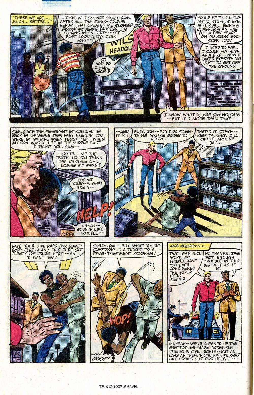 Captain America (1968) Issue #264 #179 - English 10