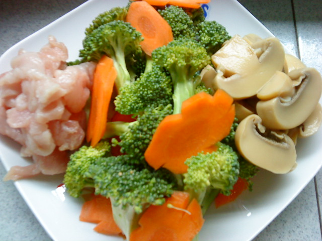 how to cook broccoli and carrots oyster sauce